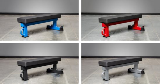 The Rep FB-5000 Flat Weight Bench Is Available in 4 Different Colors