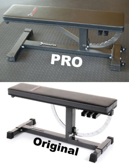 Ironmaster Super Bench Pro vs Original Ironmaster Super Bench