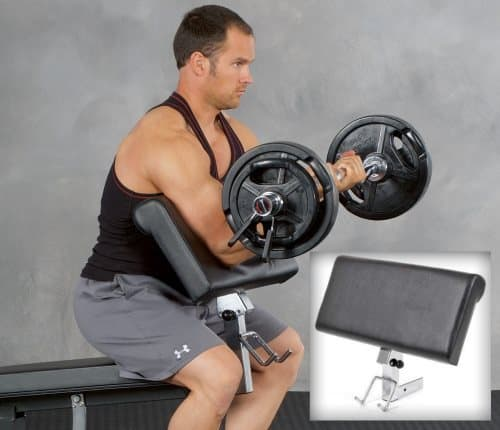 Preacher Curl Attachment for Ironmaster Super Bench Pro