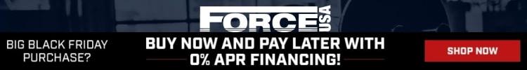 Force USA 0 Percent Financing