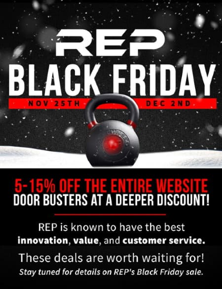 Rep Fitness Black Friday 2019