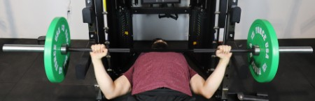 Monster G6 Power Rack - Bench Press with Extra Wide Grip
