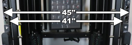 Monster G6 Power Rack Width Dimensions
