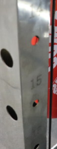 Monster G9 Laser Engraved Numbers for Functional Trainer Height Settings
