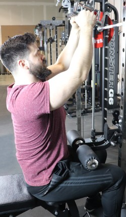 Monster G9 Lat Pulldown Station