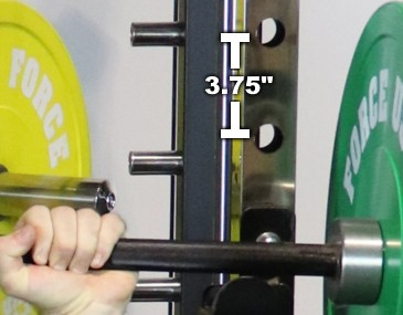 Monster G12 Power Rack Hole Spacing