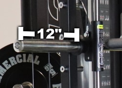 Monster G12 Smith Machine Sleeve Length