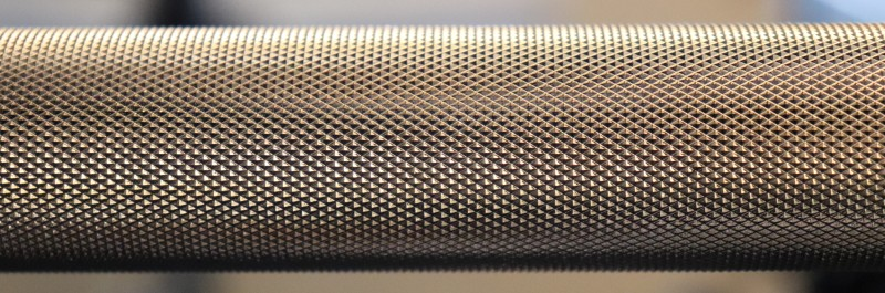 Kabuki Strength Power Bar - Knurling