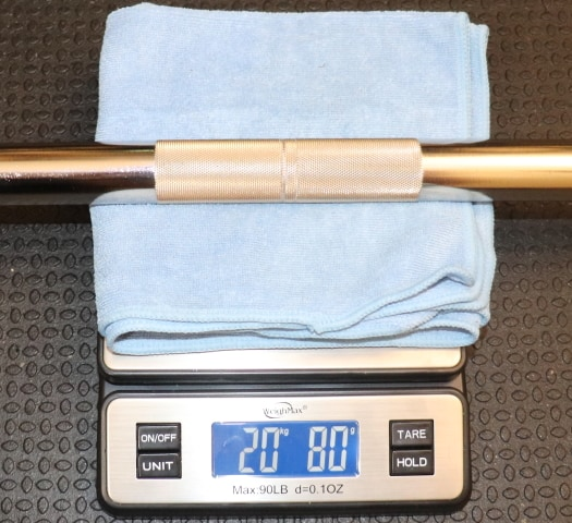Kabuki Strength Power Bar - Weight of Barbell