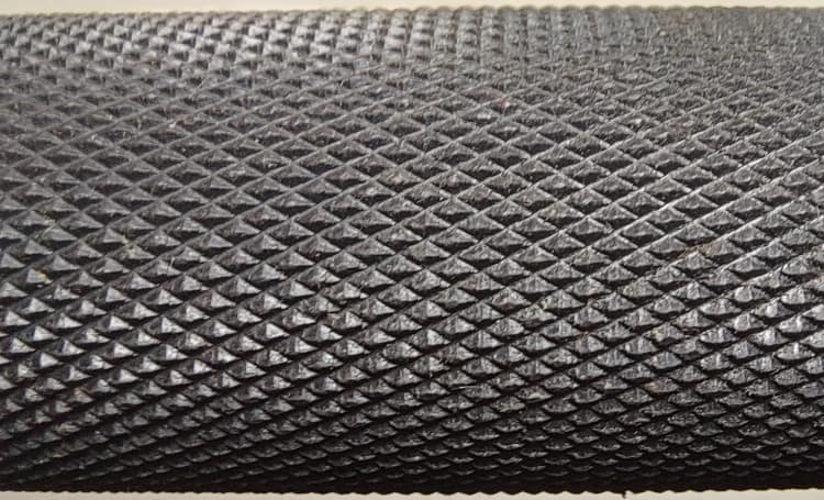 Aggressive Knurling on Vulcan Absolute Black Oxide Bar