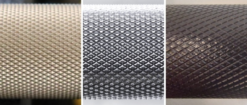 Different Types of Barbell Knurling - Mountain Style vs Volcano Style vs Flat