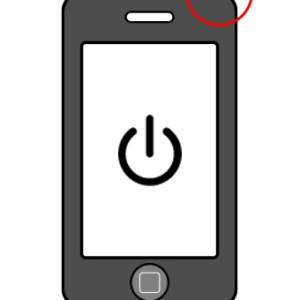 iPhone 3 power button
