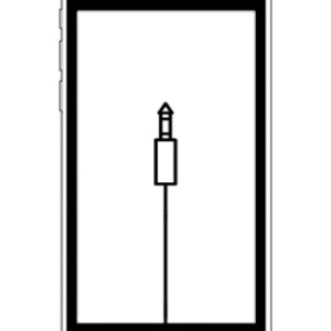 iPod touch 4 audio ingang