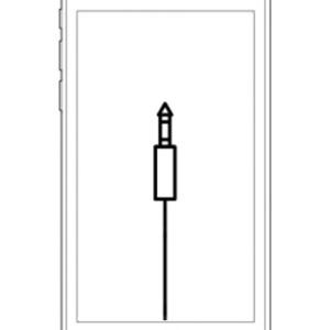 iPod touch audio ingang