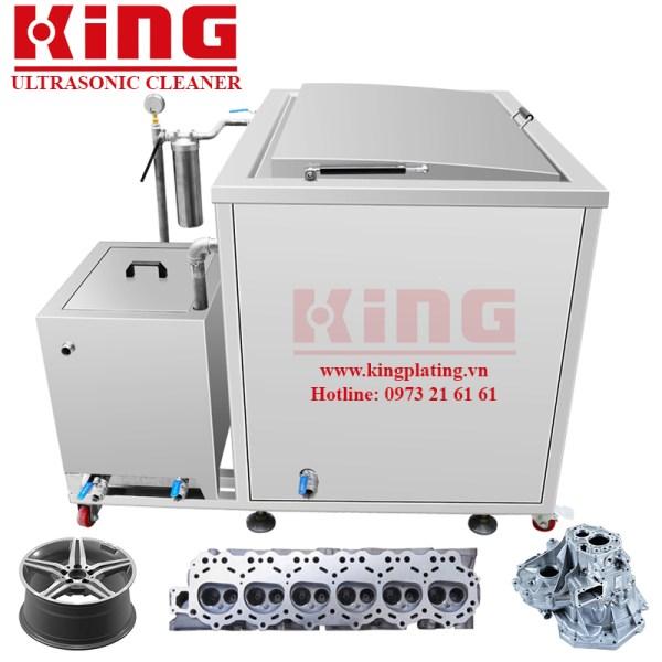Máy rửa siêu âm kết hợp hệ thống lọc 4