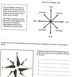 intermediate directions worksheets [ 1465 x 2148 Pixel ]