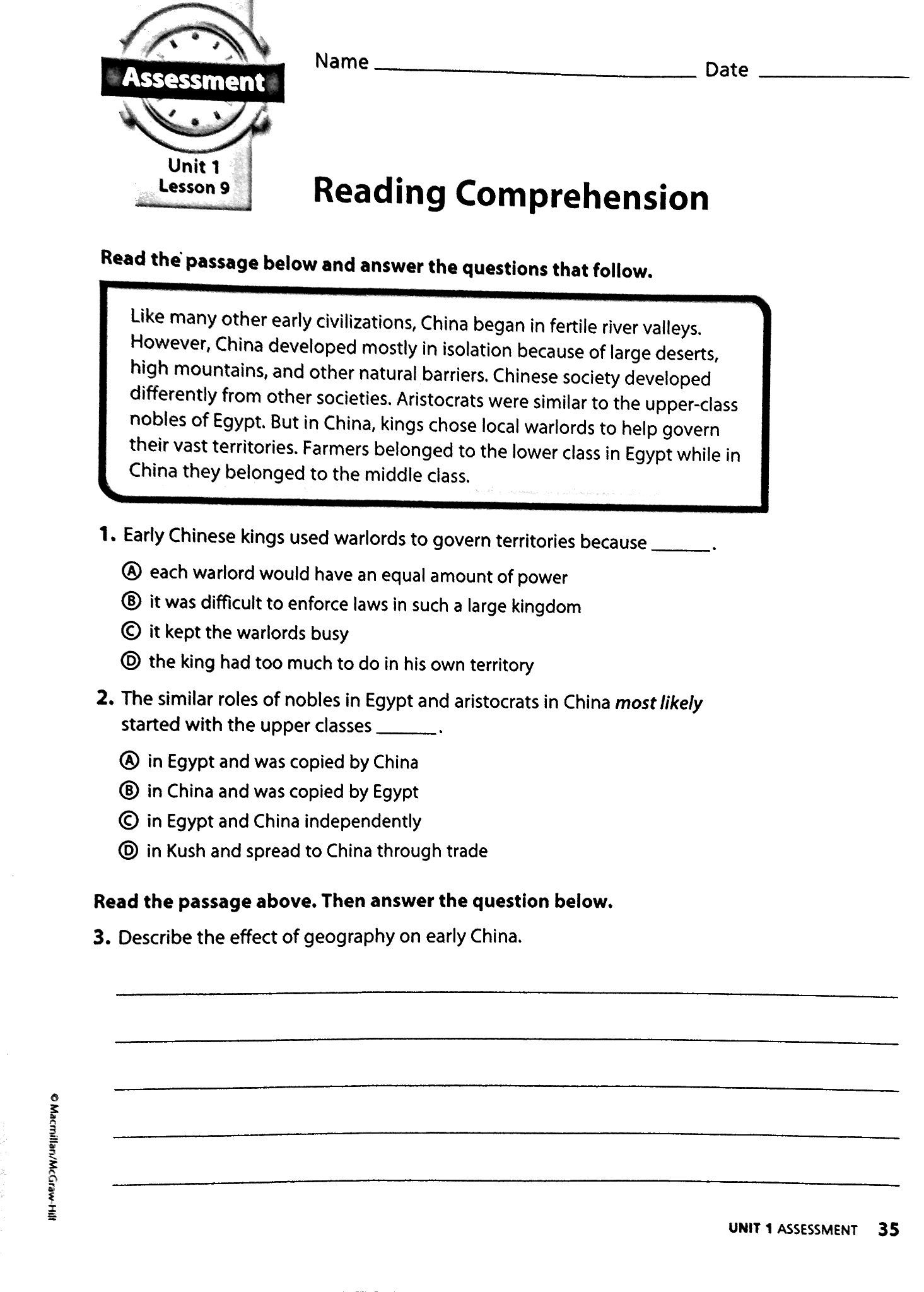Article The Roman Republic Worksheet