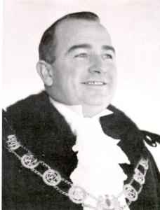 Wangaratta Mayor Aubrey Jackel, who with his wife Wilma was a pioneer of the Cheshunt campsite. Ivan his brother and Alma Jackel were also long time supporters of the camp.
