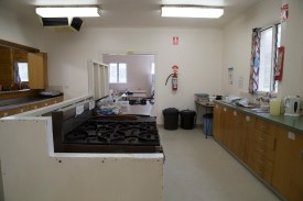 Commercial Kitchen Cooking Area