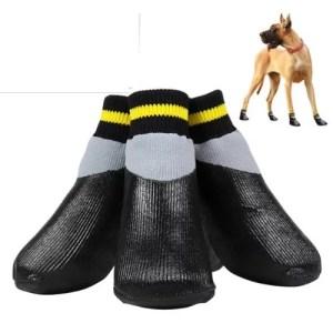 Kumisaappaat koiralle
