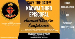 KACWM 3rd Episcopal Annual Diocese Conference @ Holy Temple | Chesapeake Beach | Maryland | United States