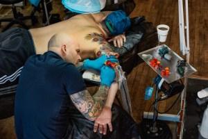 Mike Rubendall Kings Avenue Tattoo