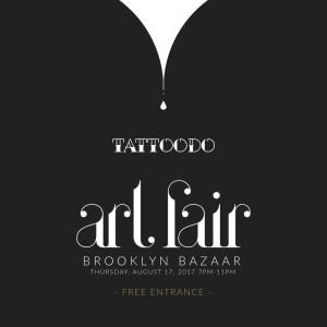 Tattoodo Art Fair Brooklyn Bazaar