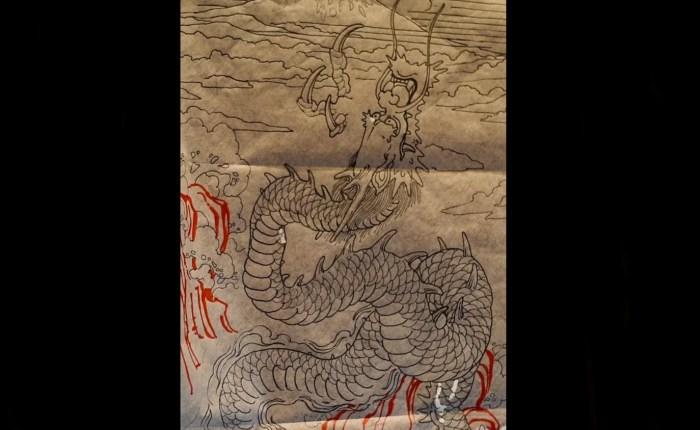 Jason June dragon sleeve