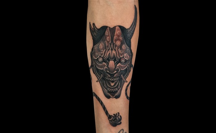 Matt Adamson Hannya Tattoos