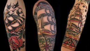 Ship Tattoo Ideas