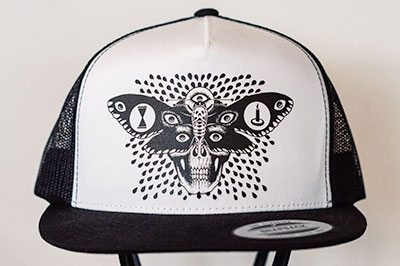 Death Moth Trucker Hat
