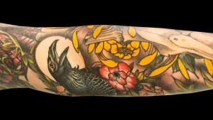 Matt Adamson Raven Tattoo