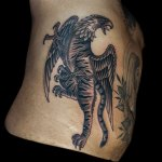 Grez Tiger Griffin Tattoo