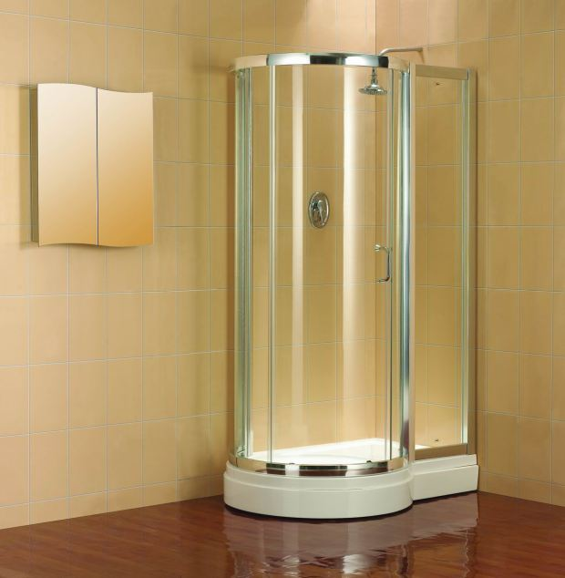 Shower Enclosures Small Bathrooms - Home Design Ideas