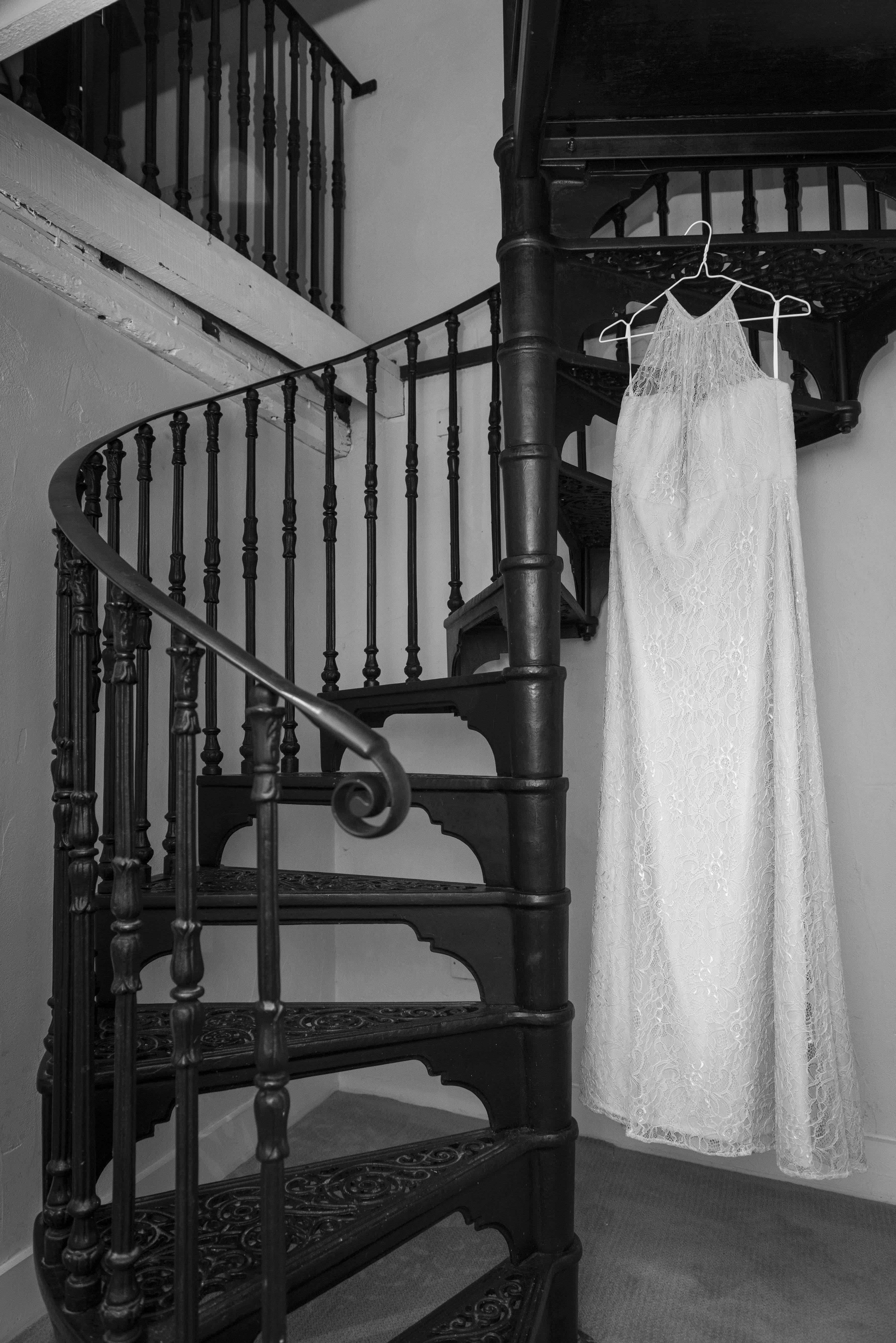 Iron Staircase - Room 302