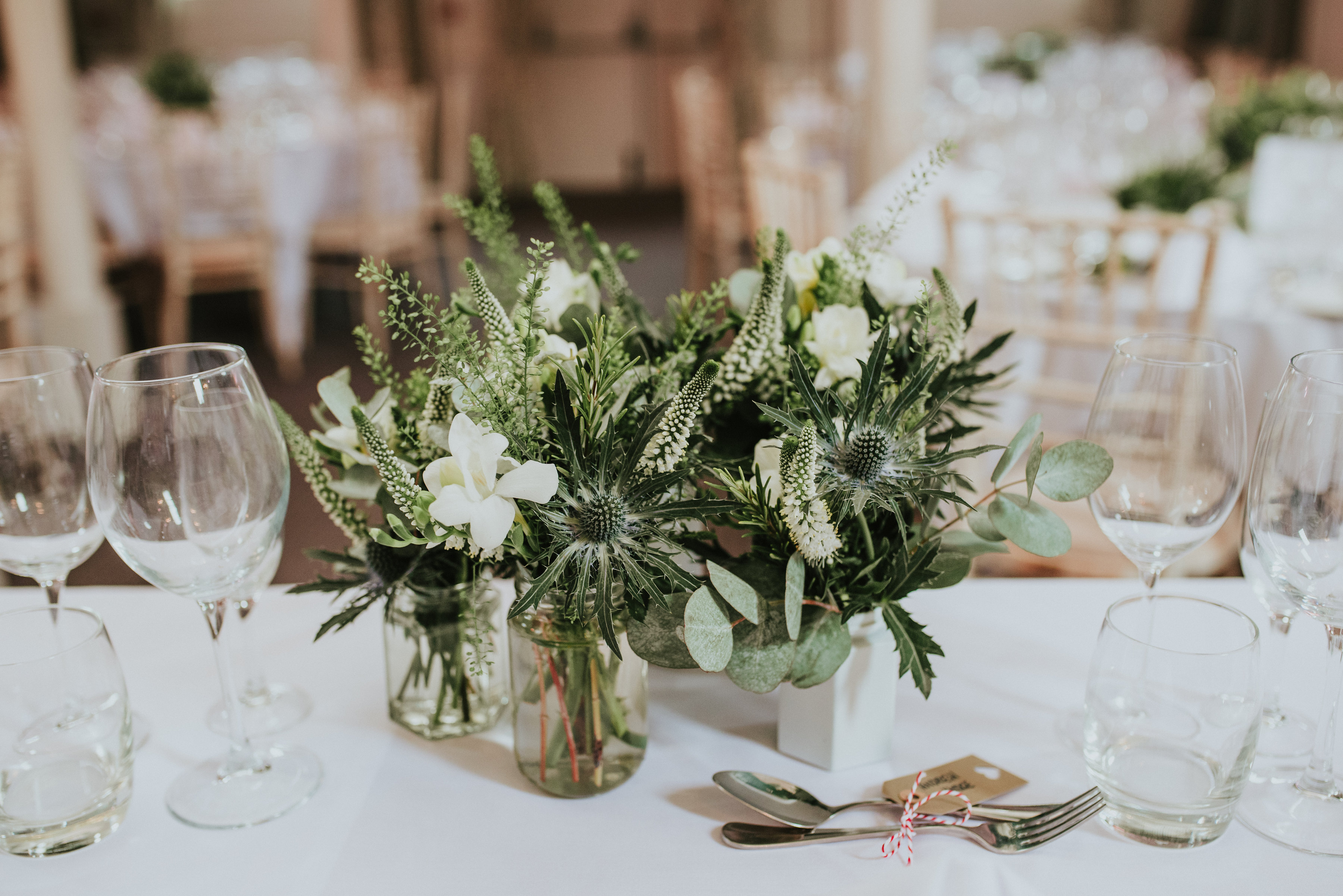 Wedding Natural Centrepice