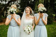 E & her bridesmaids