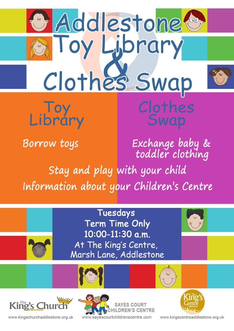 Clothes swap flyer blead
