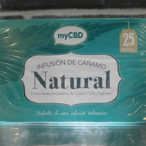 MyCBD Tea Infusion - Natural - 25 Bustine