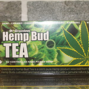 Hemp bud-tea by Dr. Greenlove