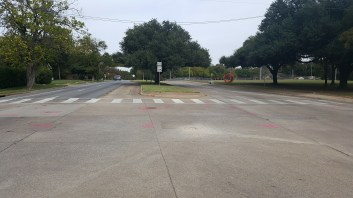 After with New Crosswalk