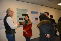 Poster session with Head of Department