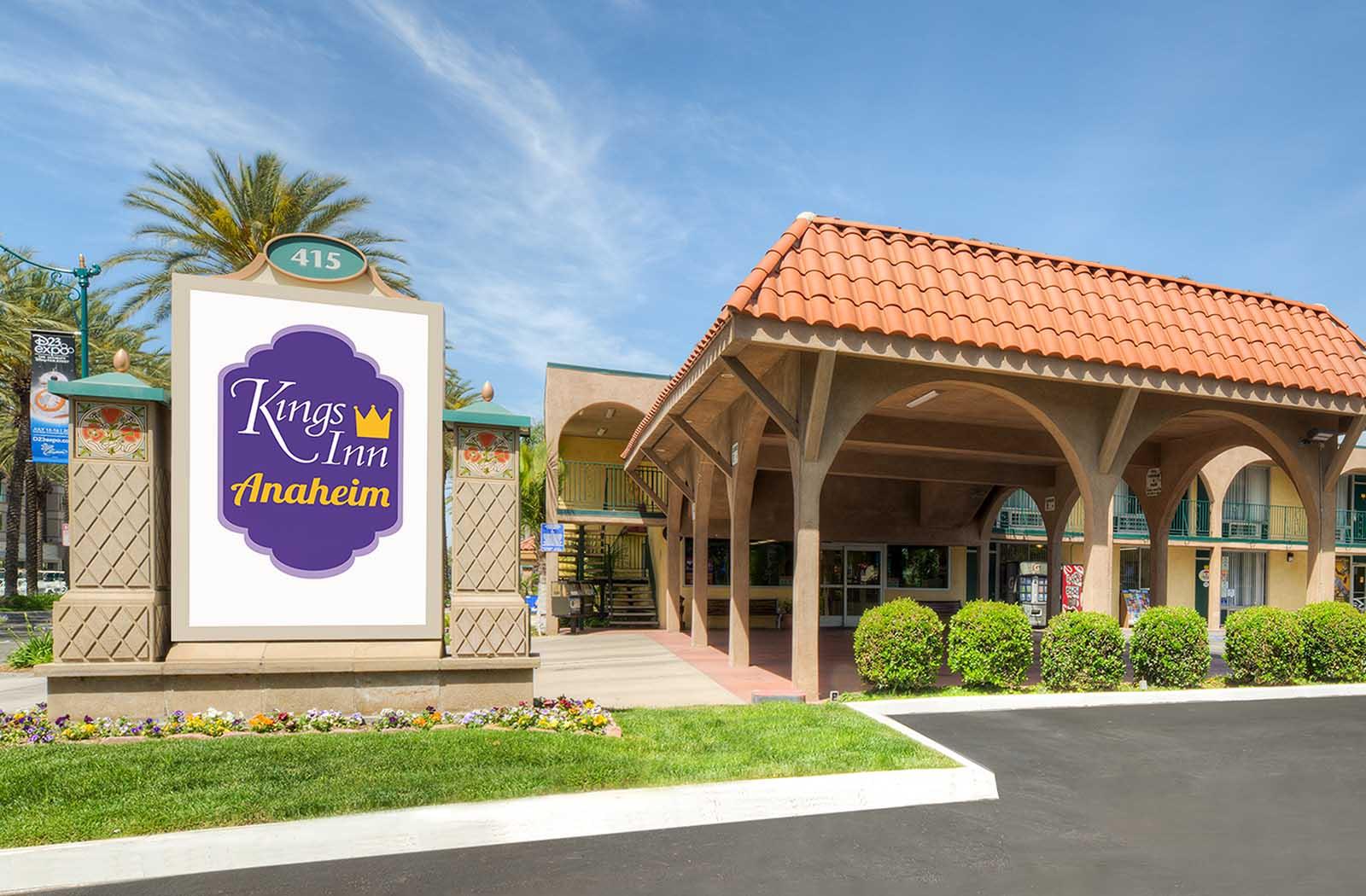 Kings Inn Anaheim Hotel Near Disneyland Best Value