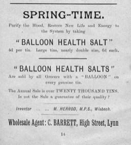 1904 Mar 16th &17th Chas Barrett Stepney Bap Bazaar (05)