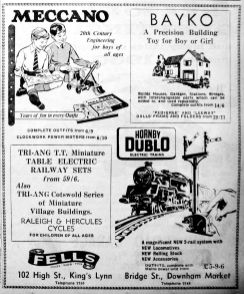 1959 Dec 18th Fells toys