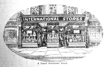 1928 Feb 3rd Typical shopfront International