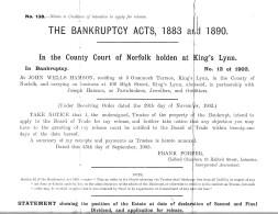 Bankruptcy 1 Hamson (Nick Hamson)
