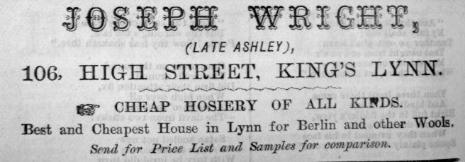 1885 Lynn News Almanack Joseph Wright 02