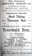1920 Jan 7th Trenowath Bros