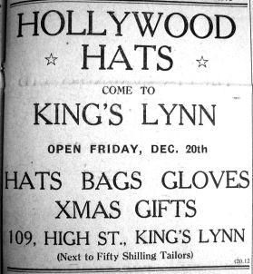 1946 Dec 20th Hollywood Hats coming